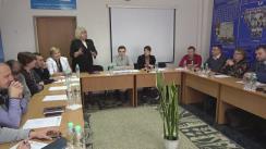 Masă rotundă pe teme de securitate economică națională cu candidații la funcția de șef al statului, organizată la Bălți