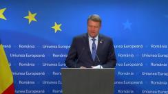 Declarația de presă a Președintelui României, Klaus Iohannis, susținută la finalul Reuniunii Consiliului European