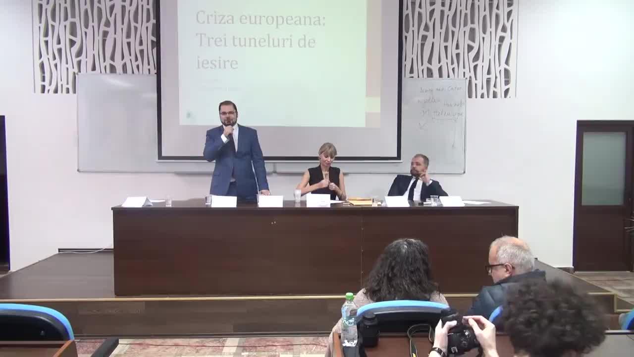 """Conferința organizată de Friedrich-Ebert-Stiftung Romania cu tema """"Trei scenarii de ieșire din criza structurală a Europei"""""""