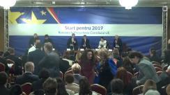 """Dezbaterea """"Start pentru 2019: România la președinția Consiliului UE"""""""