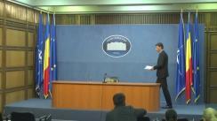 Conferință de presă susținută de ministrul Afacerilor Interne, Ioan-Dragoș Tudorache