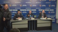 """Conferință de presă organizată de Procuratura Generală privind operațiunea de reținere a unui cetățean al Republicii Moldova pentru promovarea ideologiei """"Statului Islamic"""""""