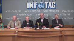 """Conferință de presă organizată de Partidul Popular Socialist din Moldova cu tema """"Despre alegerile prezidențiale și necesitatea consolidării societații moldovenești"""""""