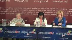 """Conferința de presă cu tema """"Festivalul-Concurs Internațional de Muzică Corală """"A ruginit frunza din vii"""" la cea de a 9-a ediție"""""""