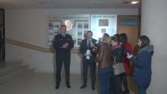 Conferință de presă privind operațiunea de reținere a mai multor polițiști din cadrul Inspectoratului Național de Patrulare
