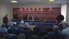 """Conferință de presă susținută de un grup de membri ai PCRM cu tema """"Poziția cu privire la alegerile Președintelui Republicii Moldova"""""""