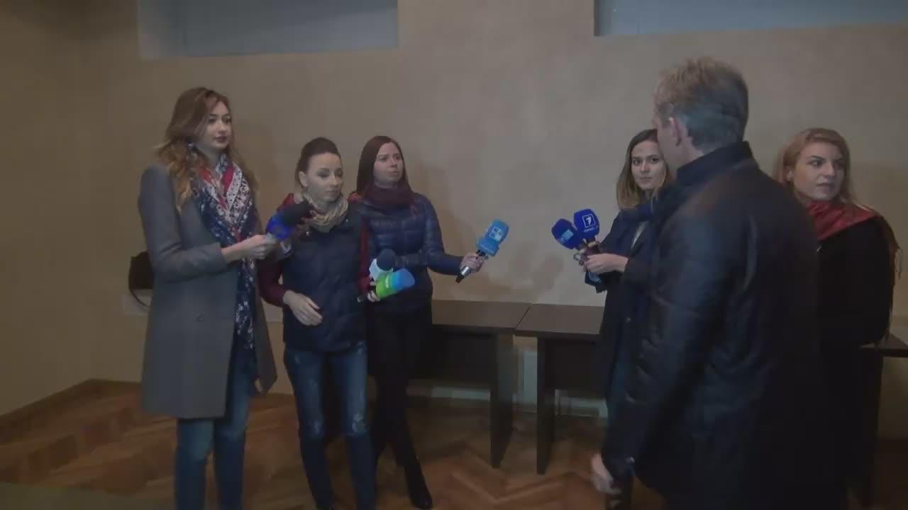 Briefing de presă susținut de candidatul la funcția de președinte al Republicii Moldova, Iurie Leancă
