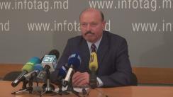 """Conferință de presă cu tema """"Anunțul candidatului Valeriu Ghilețchi privind decizia saîn contextul ultimelor evoluții politice"""""""