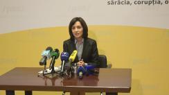 """Conferință de presă susținută de Maia Sandu cu tema """"Oferta Președintelui Maia Sandu pentru fiecare cetățean"""""""