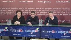 """Conferință de presă cu tema """"Alegerile președintelui Republicii Moldova și poziția Partidului """"Renaștere-Возрождение"""" în această chestiune"""""""