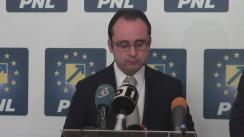 Conferință de presă susținută de Președintele PNL București, Cristian Bușoi, și purtătorul de cuvânt al consilierilor PNL din CGMB, Ciprian Ciucu