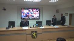Conferință de presă susținută de șeful IGP, Alexandru Pînzari, privind măsurile de asigurare a ordinii publice întreprinse de Poliție pe parcursul desfășurării alegerilor prezidențiale din 30 octombrie 2016
