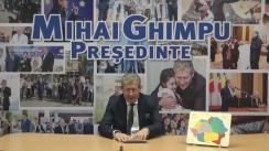 Mesajul lui Mihai Ghimpu adresat unioniștilor