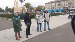 Protest împotriva primarului municipiului Bălți, Renato Usatîi