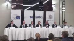 Conferință de presă susținută de observatorii internaționali care monitorizează alegerile prezidențiale din Moldova
