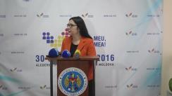 Declarațiile Alinei Russu după întâlnirea membrilor CEC cu concurenții electorali și reprezentanții misiunilor de observatori