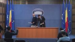 Declarație de presă susținută de  Secretarul de Stat în Ministerul Afacerilor Interne, Raed Arafat