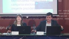 """Conferință de presă cu tema """"Monitorizarea mass-mediei în perioada electorală: prezentarea raportului nr. 5 (21 - 28 octombrie 2016)"""""""