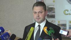 Briefing organizat de Centrul Național Anticorupție și Procuratura Anticorupție privind operațiunea din posturile vamale Leușeni și Sculeni