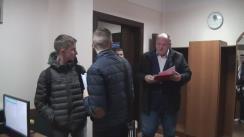 Vasile Bolea, deputat PSRM și Vadim Filipov, reprezentantul candidatului electoral Igor Dodon, depun la Comisia Electorală Centrală solicitarea repetată de a deschide secții de votare suplimentare în Federația Rusă
