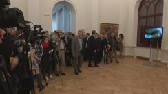"""Evenimentul de inaugurare a Expoziției permanente de Artă Națională și repunere în circuitul public a sediului central """"Dadiani"""" al Muzeului Național de Artă al Moldovei"""