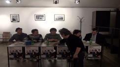"""Conferința de lansare a albumului """"Blue Passports"""" a trupei FurioSnails"""