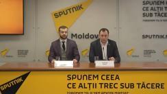 Conferință de presă susținută de avocații primarului orașului Orhei, Ilan Șor