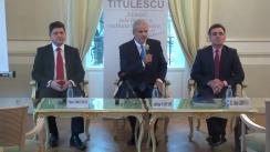 Dezbaterea organizată de Fundația Titulescu pe tema alegerilor prezidențiale în Republica Moldova