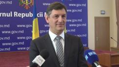 Declarația lui Costin Grigore Borc după conferința de presă susținută de co-președinții Comisiei interguvernamentale de colaborare economică între Republica Moldova și România