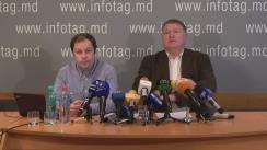 """Conferință de presă organizată de Asociația Sociologilor și Demografilor din Moldova cu tema """"Situația socio-politică din Republica Moldova în ajunul turului doi al alegerilor prezidențiale și opinia alegătorilor"""""""