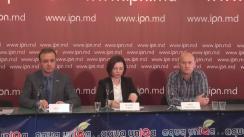 """Conferință de presă organizată de Asociația Promo-LEX cu tema """"Tortura și rele tratamente în regiunea transnistreană a Republicii Moldova: Mărturii ale supraviețuitorilor"""""""