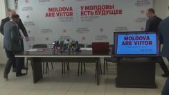 """Conferință de presă susținută de reprezentanții PSRM cu tema """"Top 10 minciuni ale Maiei Sandu"""""""
