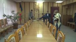 Tragerea la sorți privind modul de desfășurare a dezbaterilor electorale televizate de la postul public Moldova1 pentru ziua de joi 10 noiembrie la ora 19:45