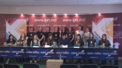 """Conferință de presă organizată de Asociația Obștească """"Onoare, Demnitate și Patrie"""" cu tema """"Necesitatea votului de la 16 ani"""""""