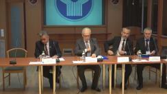 Conferință de presă susținută de misiunea internațională de observatori a CSI privind rezultatele de pregătire și desfășurare a alegerilor prezidențiale