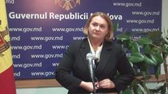 Declarațiile Stelei Grigoraș după ședința Guvernului Republicii Moldova din 9 noiembrie 2016