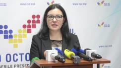Declarațiile Alinei Russu după Ședința Comisiei Electorale Centrale din 9 noiembrie 2016