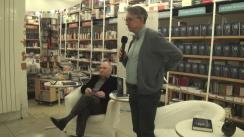 """Lansarea cărții """"O teză de doctorat la Dumnezeu - exerciții de gândire"""", de Alexandru Dragomir. Participă Horia-Roman Patapievici și Gabriel Liiceanu"""