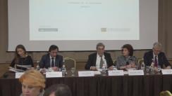 Forumul moldo-român în domeniul justiției. Panelul I: Reforma judecătorească: îmbunătățirea accesului la justiție, optimizarea hărții instanțelor judecătorești, răspunderea disciplinară, perfecționarea programului de gestionare aleatorie a dosarelor