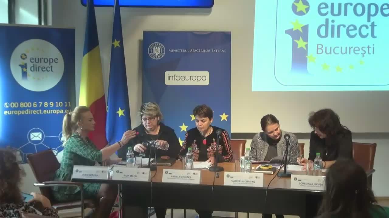 "Lansarea broșurii ""10 Priorități de Nota 10! Prioritățile Comisiei Juncker prin ochii tinerilor români"""