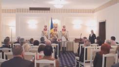 Ceremonia de acordare a distincțiilor de stat din partea Președintelui Republicii Moldova, Nicolae Timofti