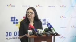 Declarațiile Alinei Russu după Ședința Comisiei Electorale Centrale din 11 noiembrie 2016