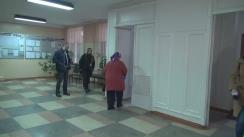 Alegeri Prezidențiale 2016: Exprimarea votului de către președintele Republicii Moldova, Nicolae Timofti