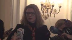 Conferință de presă susținută de Eugen Nicolăescu, după Reunirea Biroului Politic Național al PNL