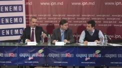 """Conferință de presă organizată de Misiunea de Monitorizare a Alegerilor din cadrul Rețelei Europene a Organizațiilor de Monitorizare a Alegerilor (ENEMO) cu tema """"Prezentarea Constatărilor și Concluziilor Preliminare pentru turul 2 al alegerilor"""""""