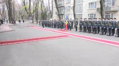 Ceremonia oficială de întâmpinare a președintelui Republicii Bulgaria, Rosen Plevneliev, de către președintele Republicii Moldova, Nicolae Timofti