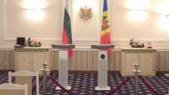 Conferință de presă susținută de președintele Republicii Moldova, Nicolae Timofti, și președintele Republicii Bulgaria, Rosen Plevneliev