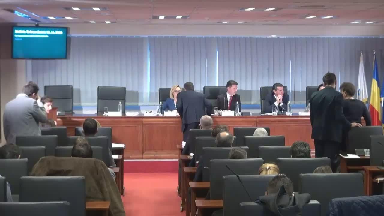 Ședința extraordinară a Consiliului General al Municipiului București din 15 noiembrie 2016