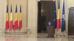 Ceremonie de decorare a Societății de Geografie din România și a Clubului Sportul Studențesc București