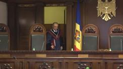 Curtea Constituțională pronunță decizia privind executarea hotărârilor judecătorești irevocabile